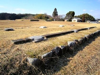 山田寺跡 回廊