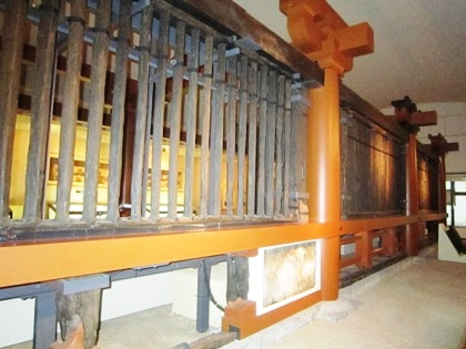 山田寺回廊 飛鳥資料館