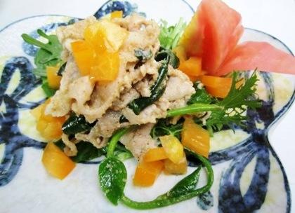 ヤマトポークの胡麻サラダ