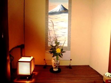 客室吉野の床の間 日本情緒ぷらん
