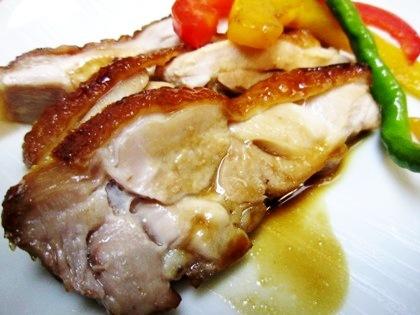 大和肉鶏の照り焼き